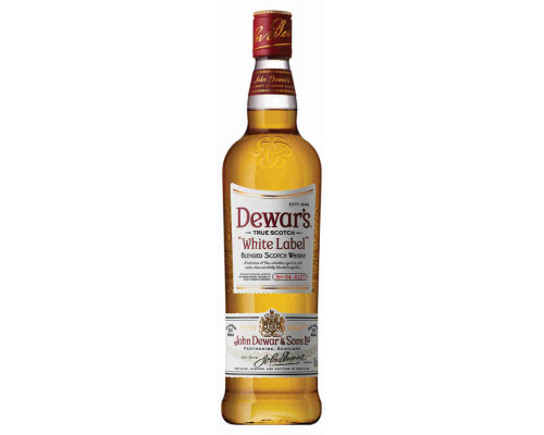 Виски Дюарс Белая Этикетка 40%  0.7л шотландский купажированный