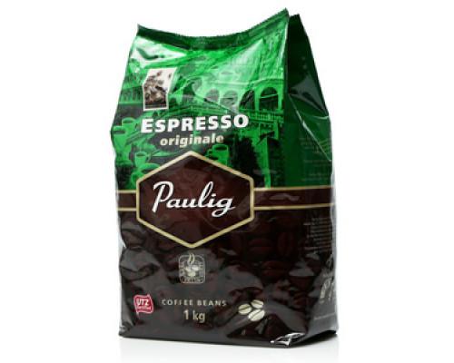 Кофе в зернах жареный Espresso (Экпрессо) ТМ Paulig (Паулиг)