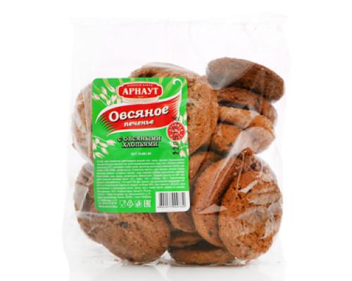 Печенье овсяное с овсяными хлопьями TM Арнаут