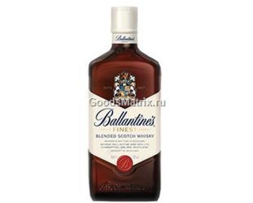 Виски шотландский ТМ Ballantine`s Finest (Баллантайнс Файнест), купажированный, 40%, 0,7 л