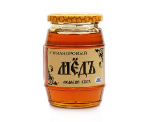 Мед кориандровый ТМ Медовый Векъ