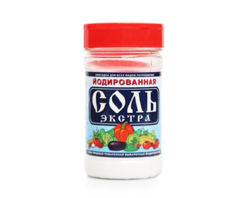 Соль Экстра йодированная
