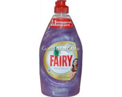 Средство для мытья посуды Fairy Шёлк и Орхидея, 450 мл