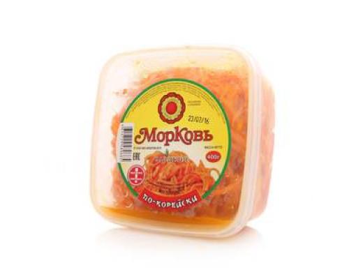 Морковь по-корейски ТМ Фабрика домашних солений