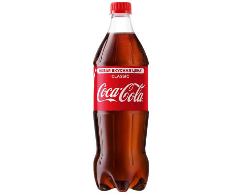 Напиток ТМ Coca-Cola (Кока-Кола), сильногазированный, 900 мл