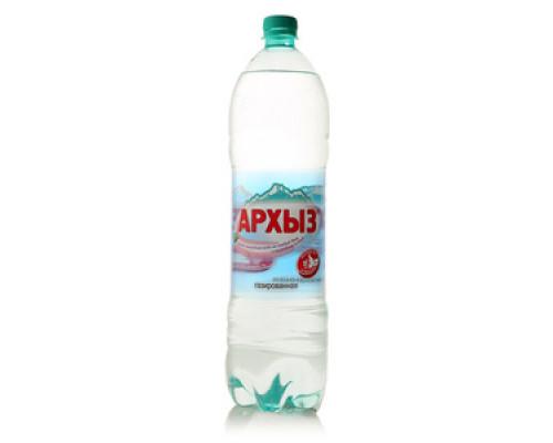 Вода газированная минеральная питьевая ТМ Архыз