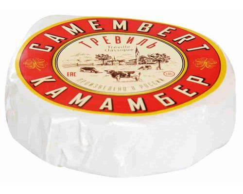 Сыр Тревиль Камамбер классик 50% 130г