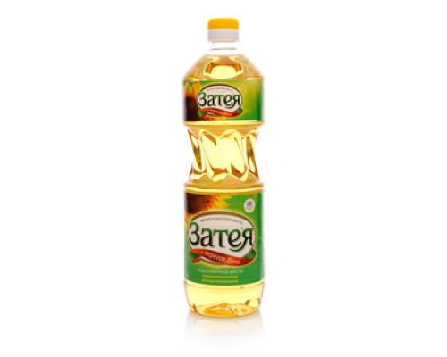 Подсолнечное масло рафинированное дезодорированное ТМ Затея