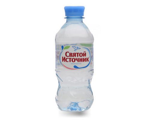 Вода питьевая негазированная ТМ Святой Источник, 0,33 л