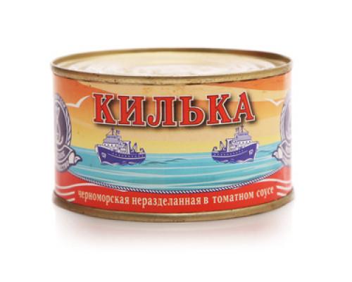 Килька в томатном соусе ТМ Морское содружество