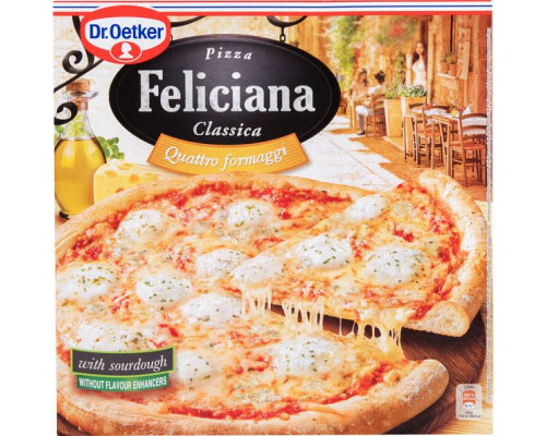 Пицца ТМ Feliciana (Фелисиана) Classica Dr.Oetker Четыре сыра, 325 г