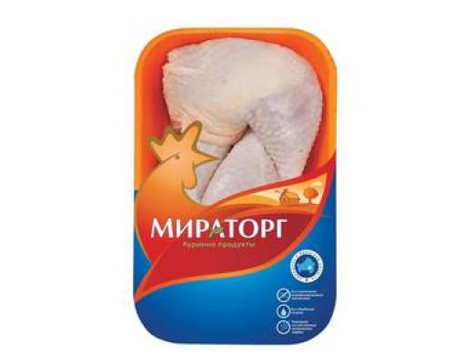 Окорочок с кожей цыпленка-бройлера охлажденный ТМ Мираторг