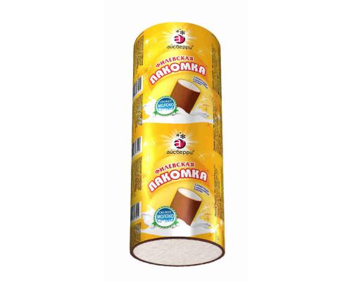 Мороженое пломбир Филевское Лакомка сливочное во взбитой шоколадной глазури 90г