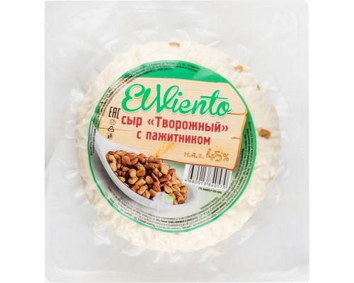 Сыр Творожный ТМ El Viento (Эль Виенто) с пажитником, 45%, 300 г