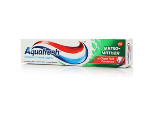 Зубная паста Мягко-мятна ТМ Aquafresh (Аквафреш)