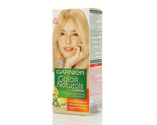 Крем-краска стойкая питательная белое солнце Garnier color naturals creme (Гарниер колор натуралс крем) ТМ Garnier (Гарниер)