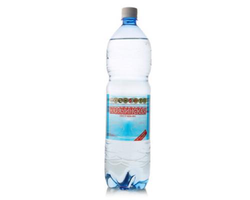 Минеральная природная питьевая вода карачинская газированная ТМ Карачинская