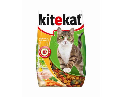 Корм для кошек Kitekat курочка по домашнему сухой 800г