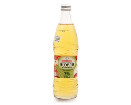 Безалкогольный сильногазированный напиток с натуральным яблочным соком ТМ Шорли
