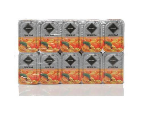 Джем порционный абрикосовый ТМ Rioba (Риоба), 20*20г, без стерилизации