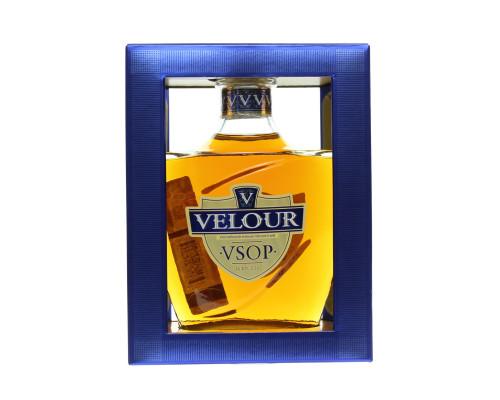 Коньяк ТМ Velour (Велюр) VSOP, пятилетний, 40%, 0,5 л