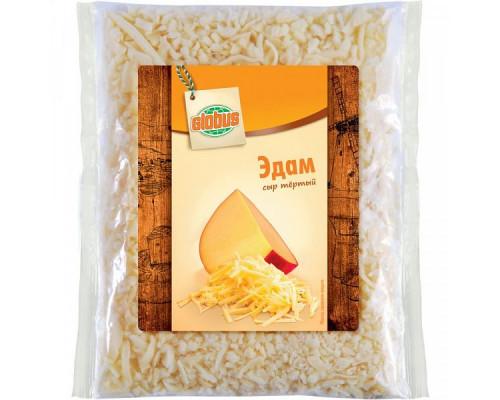 Сыр Эдам ТМ Globus (Глобус), тертый, 40%, 200 г