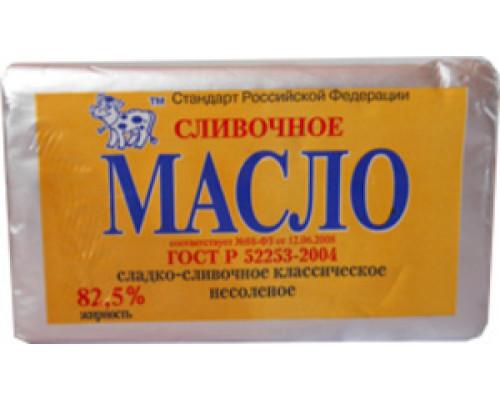 Масло сладкосливочное несоленое 82,5% ТМ Невские сыры, 180 г