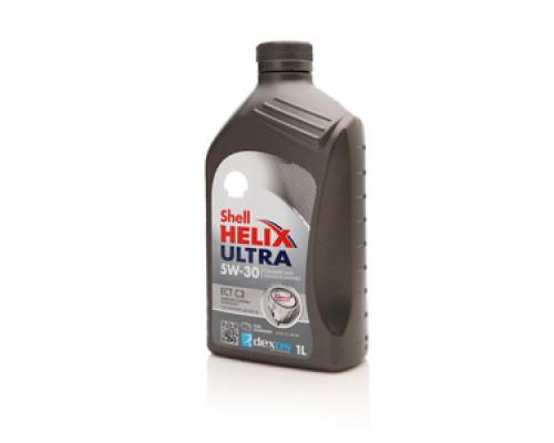 Синтетическое Масло моторное 5W-30 ЕСТ С3 ТМ Shell Helix Ultra (Шелл Хеликс Ультра)