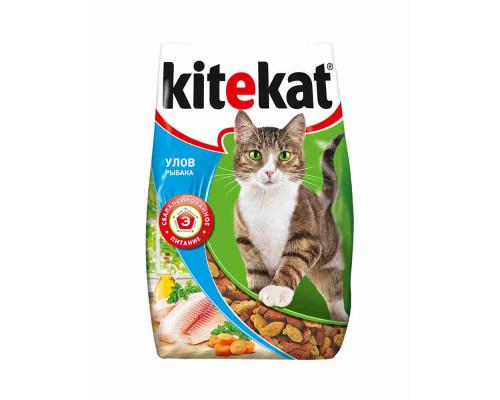Корм для кошек Kitekat улов рыбака сухой 1,9кг