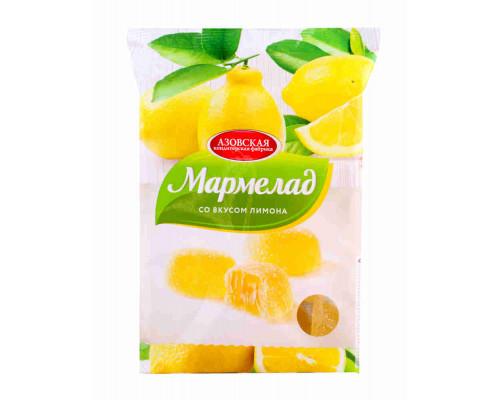 Мармелад желейный Азовская КФ со вкусом лимона 300г