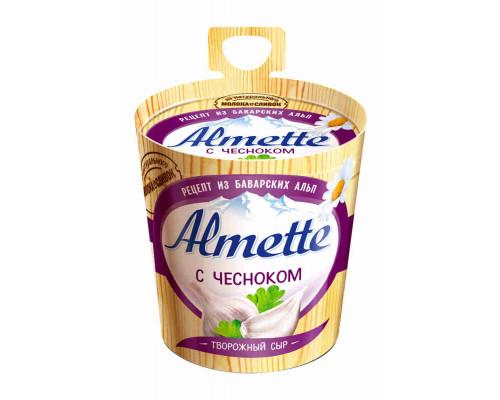 Сыр творожный Альметте с чесноком 150г