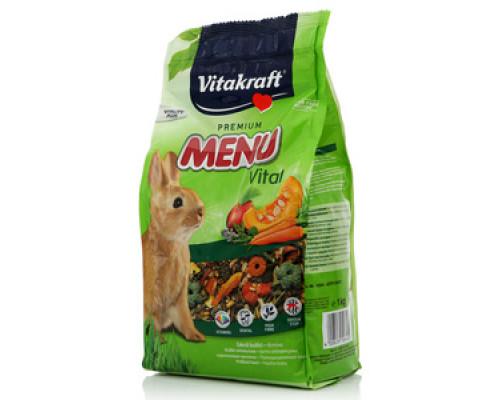 Корм для кроликов Premium Menu Полнорационный ТМ Vitakraft (Витакрафт)