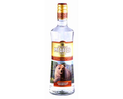 Водка «Добрый медведь» 0.5