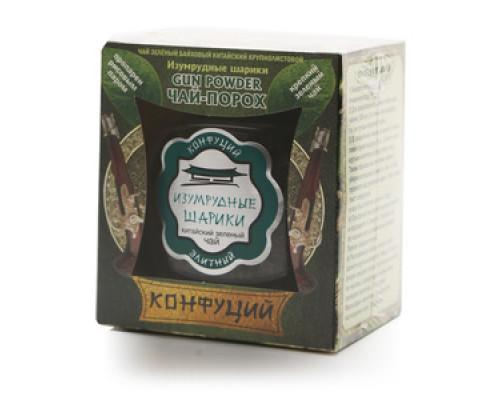 Чай зеленый Изумрудные шарики ТМ Конфуций