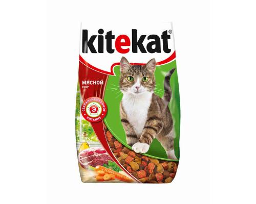 Корм для кошек Kitekat мясной пир 800г