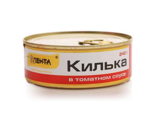 Килька в томатном соусе ТМ Лента
