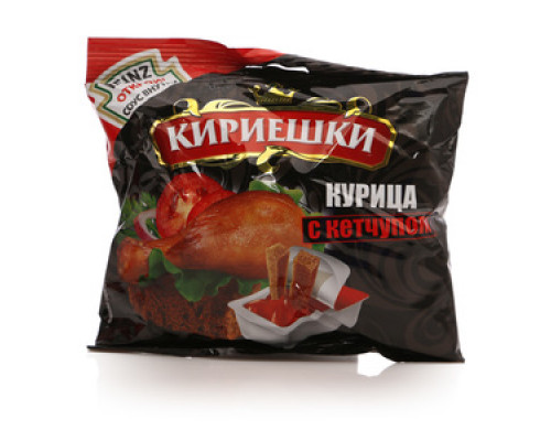 Сухарики со вкусом курицы с кетчупом ТМ Кириешки