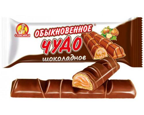 Батончик ТМ Славянка Обыкновенное чудо шоколадное, 55 г