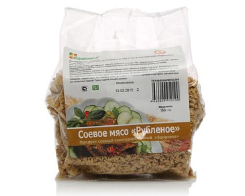 Соевое мясо рубленое ТМ Здоровка