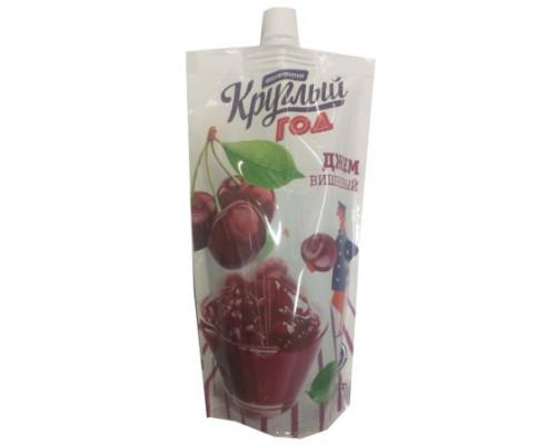 Джем Круглый Год Аппетитно вишневый домашний, 300 г