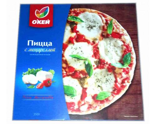 Пицца ОКЕЙ с моцареллой 350г