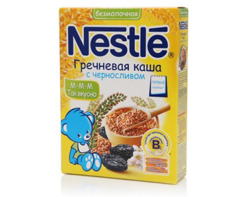 Каша Гречневая безмолочная с Черносливом ТМ Nestle (Нестле)