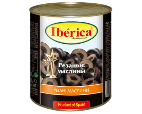 Маслины резаные ТМ Iberica (Иберика)