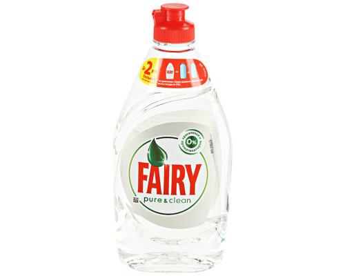 Средство для мытья посуды ТМ Fairy (Фэйри) Pure&Clean, 450 мл