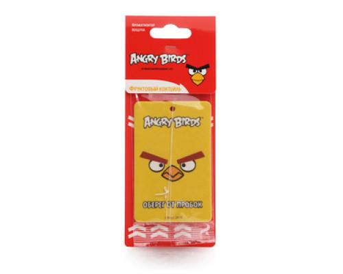 Освежитель воздуха подвесной Фруктовый коктейль ТМ Angry Birds (Энгри бердс)