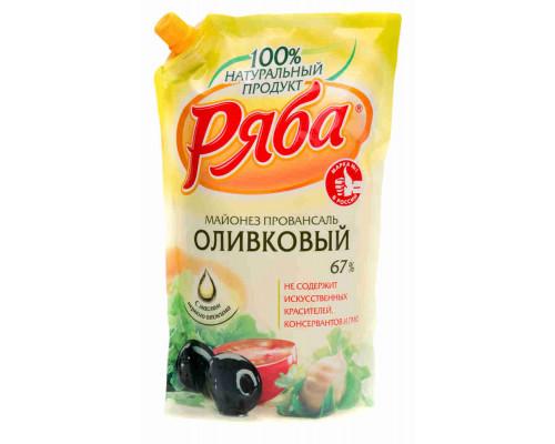 Майонез Ряба оливковый 67% 800мл д/п