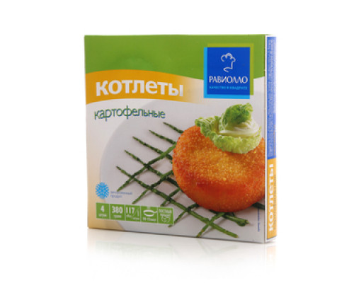 Котлеты картофельные ТМ Равиолло