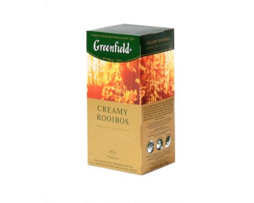 Чай травяной Creamy Rooibos 2*25*1,5г ТМ Greenfield (Гринфилд)
