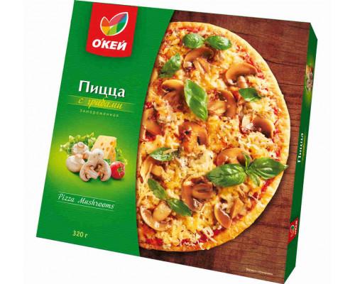 Пицца ОКЕЙ с грибами 320г