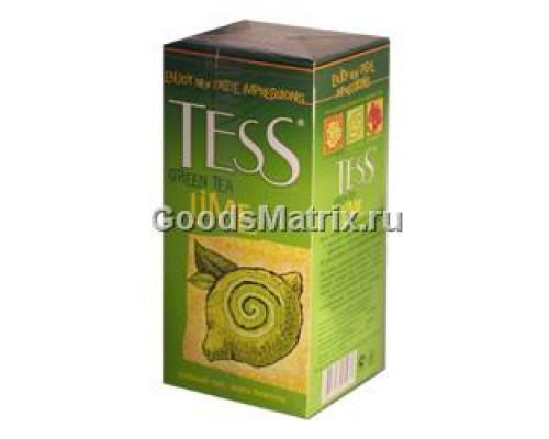 Чайай зеленый Tess (Тесс), Lime 25 пакетиков, 50 г
